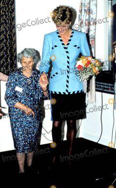 Princess Diana Mid Glamorgan Photo: Dave Chancellor / Alpha / Globe Photos Inc 1992 Princessdianaretro