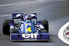 1976 Spanish GP Tyrrell P34 Patrick Depailler