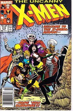 Uncanny X-Men #219 (1st Series 1963) July 1987   Marvel Comics   Grade NM