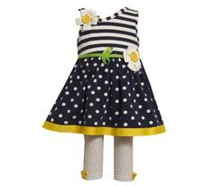 Bonnie Jean Baby Girls Flower Dress Outfit Set « Clothing Impulse