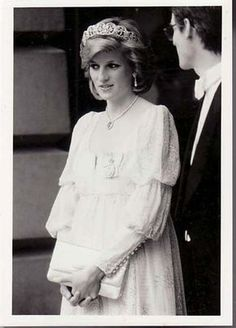 Princess Diana Rare Original Press Photo Tim Graham Pregnant with Harry May 84