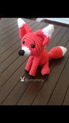 Tilki fox amigurumi tarif