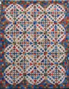 Great quilt to use up scraps.  Must find pattern.