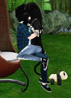 Captured Inside IMVU - Join the Fun! Virtual World, Virtual Reality, Imvu, Avatar, Join