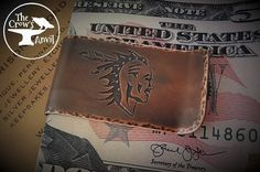 Handcrafted Navajo brave image with WARRIOR hand stamped on the rear.