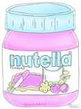 nutella and overlay image Cute Food Drawings, Kawaii Drawings, Tumbler Stickers, Cute Stickers, Cute Cartoon Pictures, Cartoon Pics, Cute Wallpaper Backgrounds, Cute Wallpapers, Cartoons