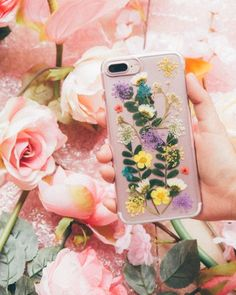 A floral makeover for your phone. #UOHome