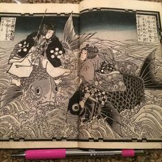 """Gorgeous Kunisada Dyptich (Kuu2) from early 1800s $50 shipping included. Plates are appx 4""""X6"""". Leave your email to snag it. by gominekowoodblockprints"""