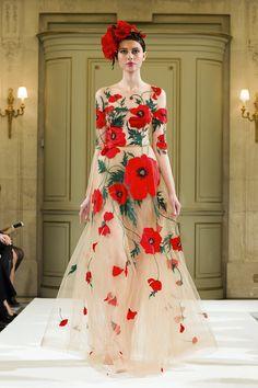 Anna Zasada at Yanina Haute Couture S/S 2014.