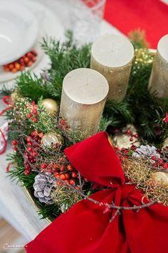 Weihnachtsdekoration, Weihnachtsdeko,  Weihnachtskränze, Weihnachtskerzen,  Tischdeko  Ideen, Tischdeko Weihnachte, Tischdekoration Weihnachten, Weihnachtstisch, Weinachten  Deko Ideen, Winterrezepte, festliches Geschirr,  funkelnder Weihnachtstisch, rote und weiße  Tischdeko, Weihnachtsdekoration rot, Christmas decoration, red decoration,  Christmas recipes ideas, Christmas wreath, table decoration christmas Wedding Thank You Cards, Wedding Make Up, Wedding Gifts, Wedding Things, Outside Wedding, Wedding Reception, Wedding Venues, Decoration Christmas, Decoration Table