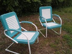 Chairs in the backyard of Patsy Cline Historic House (Winchester, VA) - 2013 [Courtesy Patsy Cline Historic House Collection]
