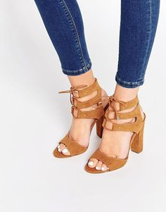 Call it Spring | Call It Spring Zigorwen Ghillie Block Heeled Sandals at ASOS
