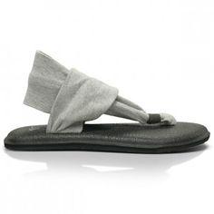 san francisco 322b2 426e5 Sanuk Yoga Sling Womens Sandals in Grey Surf Companies, Surf Brands, Can I  Please