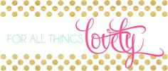 LOVE Ashley Brooke Designs and For All Things Lovely! This giveaway is amazing!