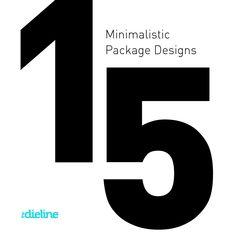 15 Minimalistic PackageDesigns - The Dieline -