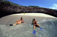 Punta de Mita, Mexico, is only 30 miles north of Puerto Vallarta, in Riviera Nayarit, but it's a whole different kind of scene. Set on a peninsula that juts into Banderas Bay, the quiet, secluded area is a mix of rustic beachfront towns and fancy five-star resorts, sandwiched between the Pacific Ocean
