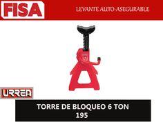 TORRE DE BLOQUEO 195. Levante auto- asegurable- FERRETERIA INDUSTRIAL -FISA S.A.S Carrera 25 # 17 - 64 Teléfono: 201 05 55 www.fisa.com.co/ Twitter:@FISA_Colombia Facebook: Ferreteria Industrial FISA Colombia