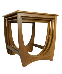 Mid Century Teak Nesting Tables by G Plan