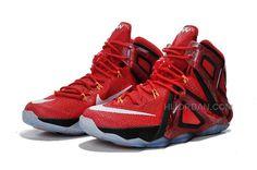 more photos f6289 7d174 Nike LeBron 12 Elite Team