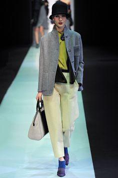 Emporio Armani Fall 2013 Ready-to-Wear Collection - Vogue