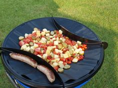 * Een heerlijke voedzame maaltijd koken op de camping? Maak dan eens een hongaars potje op de skottel of in de wok. Lekker en makkelijk koken op vakantie.