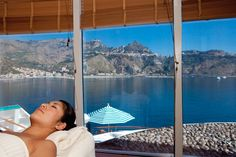 Relaxing on board #CrystalCruises is simply the best.
