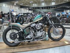 A gallery of 20 amazing Panheads from the Mooneyes Japan show #harleydavidson #harley #panhead #chopper #custommotorcycle #vtwin