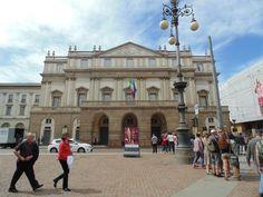 Teatro Alla Scala, Milão. Quantas histórias ficaram em Milão! Abraços ao amigo irmão Giovanni Micoli! #TBT #Milano #2014