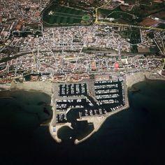 Città di Nettuno - vista dall'alto