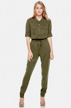 Two by Vince Camuto Tencel® Utility Jumpsuit available at #Nordstrom