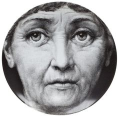 FORNASETTI face print plate