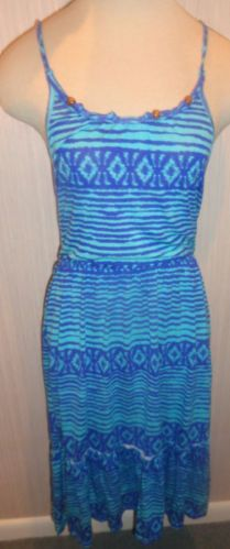 Ladies Dream Out Loud by Selena Gomez Blue Sundress Juniors Size Small