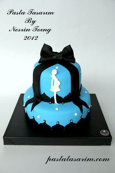BABY SHOWER CAKE by CAKE BY NESRİN TONG, via Flickr
