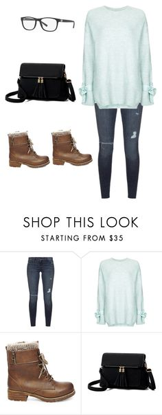 """Friday night outing"" by ylmglero on Polyvore featuring Black Orchid, Topshop, Steve Madden and Armani Exchange"