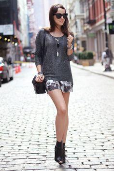 "#fashion #fashionista Andy grigio fantasia Style Scrapbook: ""NEW YORK MINUTE"""