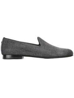 DSQUARED2 studded denim loafers. #dsquared2 #shoes #flats
