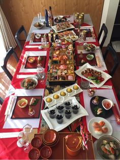 Japanese Buffet, Japanese Food, Japanese New Year, New Year's Food, Food Menu, Food Food, Decoration Table, Food Festival, No Cook Meals