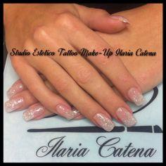 Glitter nails!!
