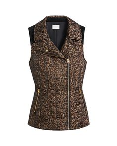Chico's Velveteen Leopard Mix Vest #chicossweeps  @lovechicos , Thanks for the chance