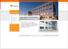Diseño de la web del edificio Technocenter. http://www.technocenter.es