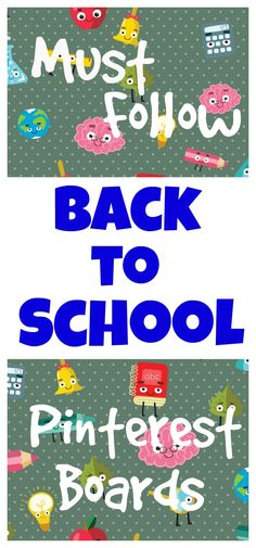 Be sure to follow these Back to School Pinterest Boards for all the best ideas, activities, traditions, and supplies for Back to School this year   Seashells and Swings