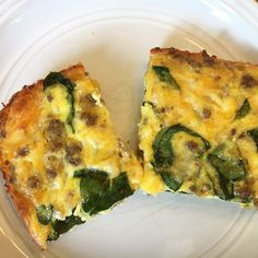 Crustless Sausage & Cheese Quiche – His Mercy is New