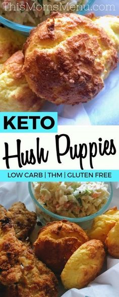 If you ask me, hush puppies are the best part of seafood restaurants. No fried fish meal is complete without a them. These Low Carb Hush Puppies have all the flavor that you would expect from a traditional hush puppy, without the carbs!