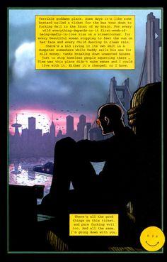 Warren Ellis (writing as Spider Jerusalem) - Transmetropolitan issue 26