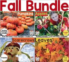 Fall Reading Passages Bundle by Amy Labrasciano | Teachers Pay Teachers