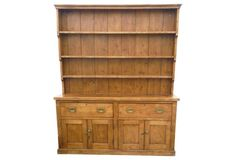 cabinet color for countertop,  19th-C. English Pine Cupboard