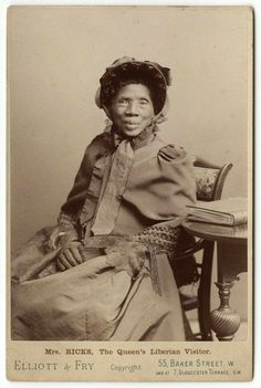 "Portrait of ""Mrs. Ricks, The Queen's Visitor,"" photographed in London. Courtesy: National Portrait Gallery, UK 
