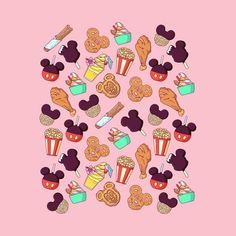 Disney T-shirts, Disney Snacks, Disney Fan Art, Disney Collage, Disney Stuff, Disney Doodles, Disney Images, Disney Pictures, Apple Watch Wallpaper