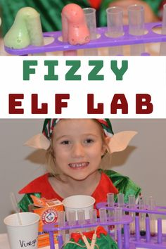 Christmas Science - Fizzy Elf Laboratory - Science Experiments for Kids