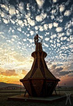 Burning Man Galleries - Genie Bottle By Gwen Fisher